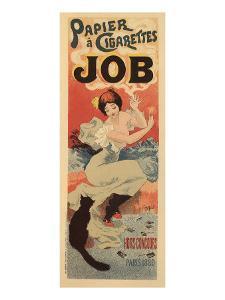 Papier a Cigarettes Job, c.1894 by Georges Meunier