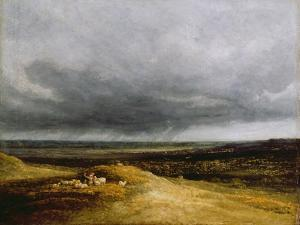 Approaching Storm, C.1820-25 by Georges Michel