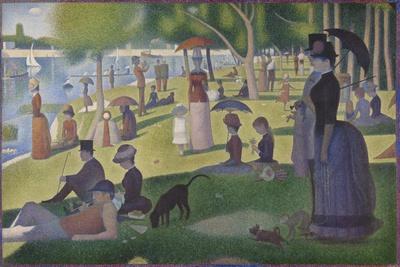 A Sunday on La Grande Jatte, 1884-86