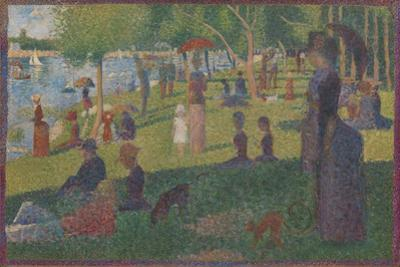 """Study for """"A Sunday on La Grande Jatte"""", 1884 by Georges Pierre Seurat"""