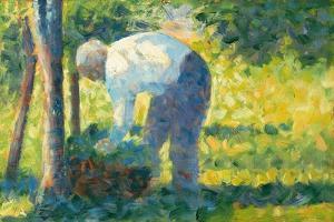 The Gardener, 1882-83 by Georges Pierre Seurat