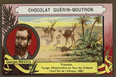 Georges Revoil, French Explorer--Giclee Print