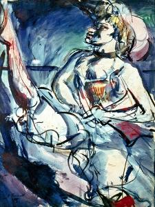 Rouault: Tabarin, 1905 by Georges Rouault