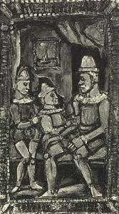 Three Figures by Georges Rouault