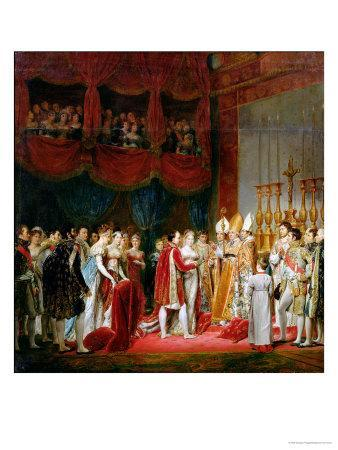 The Marriage of Napoleon I and Marie Louise Archduchess of Austria, 2nd April 1810, 1810