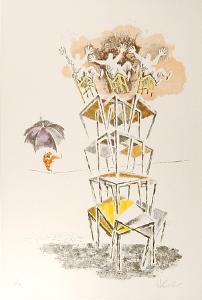 Trapeze by Georges Schreiber