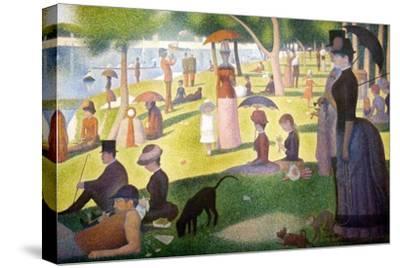 A Sunday on La Grande Jatte 1884, 1884-86