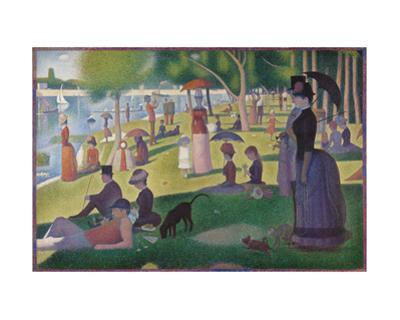 A Sunday on La Grande Jatte -- 1884, 1884-86