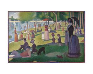 A Sunday on La Grande Jatte -- 1884, 1884-86 by Georges Seurat
