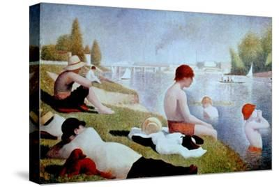 Bathers At Asnieres, 1884, French School