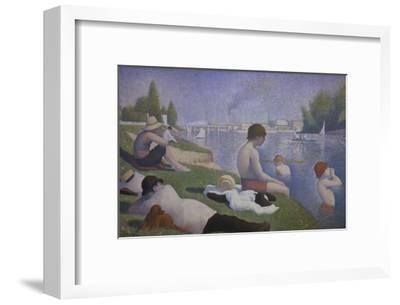 Bathers at Asnieres, 1884