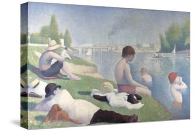 Bathers at Asnières, 1884