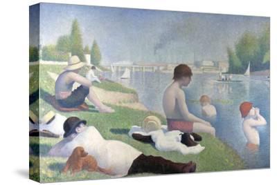 Bathers at Asnières (Baigneurs À Asnière), 1884