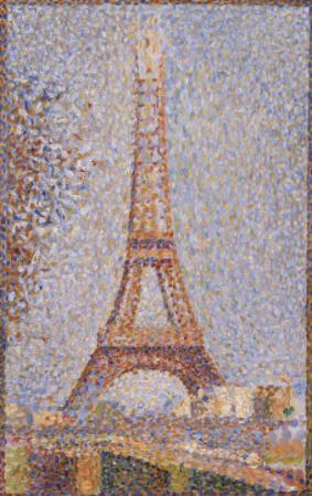 Eiffel Tower, c.1889 by Georges Seurat