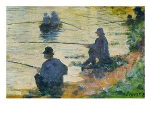 Fishermen by Georges Seurat