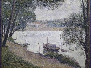 Gray Weather by Georges Seurat