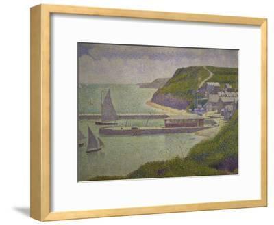 Harbour at Port-En-Bessin at High Tide, 1888
