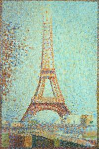 La Tour Eiffel (Eiffel Tower), 1889 by Georges Seurat