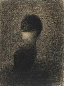 La Voilette by Georges Seurat