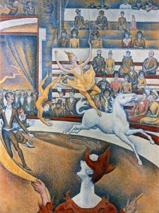 Le Cirque' ('The Circus), 1891 by Georges Seurat