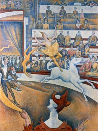Le Cirque' ('The Circus), 1891