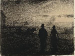 Le Labourage by Georges Seurat