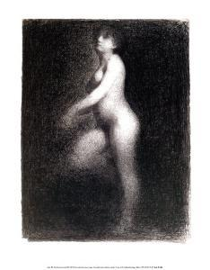 Nude, 1881-2 by Georges Seurat