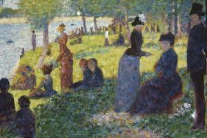 Oil Sketch for La Grande Jatte, 1884 by Georges Seurat