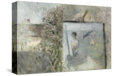 """Paysage avec le """"Pauvre Pêcheur"""" de Puvis de Chavannes"""