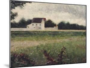 Paysage de l'Ile-de-France by Georges Seurat