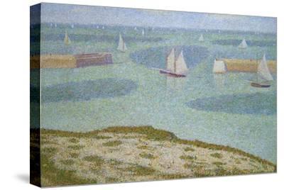 Port-En-Bessin, Entrance to the Harbor