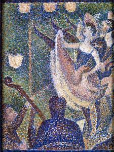 Seurat: Chahut Study, 1889 by Georges Seurat
