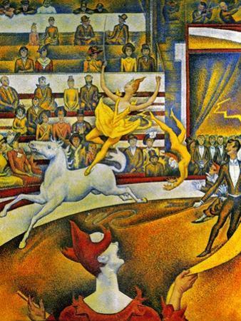 Seurat: Circus, 1891