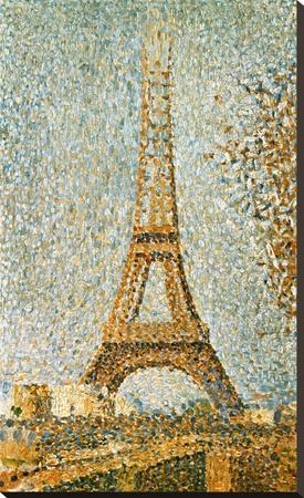 Seurat: Eiffel Tower, 1889