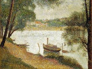 Seurat: Gray Weather by Georges Seurat