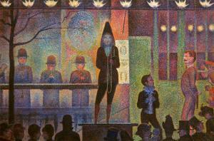 Seurat: La Parade by Georges Seurat