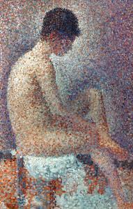Seurat: Model, 1887 by Georges Seurat