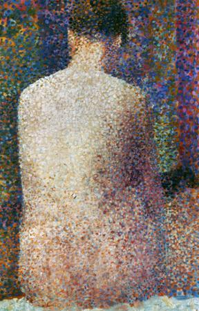 Seurat: Model, C1887 by Georges Seurat