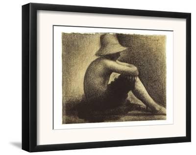 Seurat: Seated Boy, 1883-4