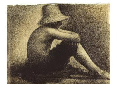 Seurat: Seated Boy, 1883-4 by Georges Seurat