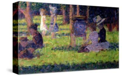 "Study for ""A Sunday Afternoon on the Island of La Grande Jatte,"" circa 1884-86"