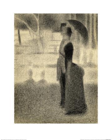Study for 'La Grande Jatte' by Georges Seurat
