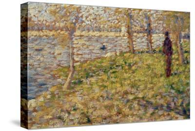 Study for 'Sunday Afternoon on the Island of La Grand Jatte', 1884-85