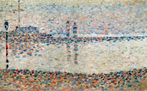 Study For 'The Channel at Gravelines, Evening', 1890 by Georges Seurat