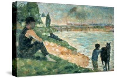 Study for Une Baignade, 1883