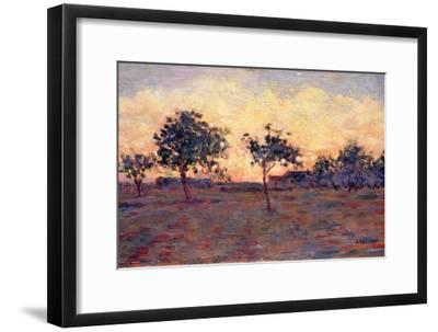 Sunset (Coucher De Soleil) 1881