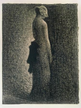 The Black Bow, 1882-3 by Georges Seurat