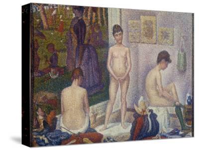 The Models (Les Poseuses). Second Version, 1888