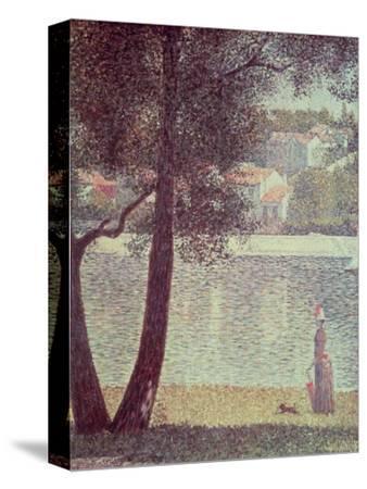The Seine at Courbevoie, 1885
