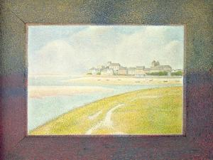 View of Le Crotoy, from Upstream, 1889 by Georges Seurat